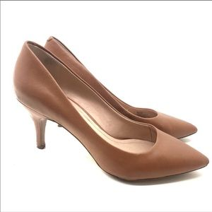 """Sole society camel brown heel pumps in """"Jeanette"""""""